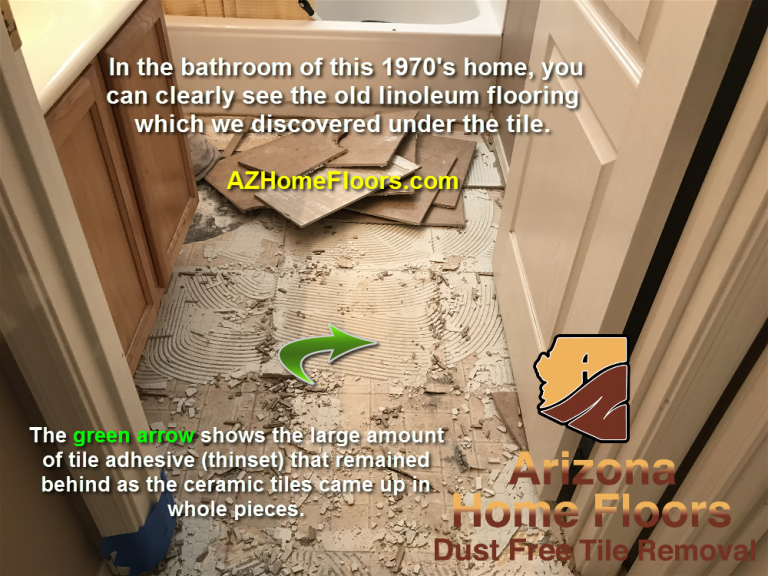 linoleum removal