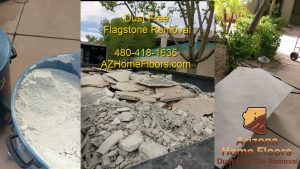 flagstone removal dust free