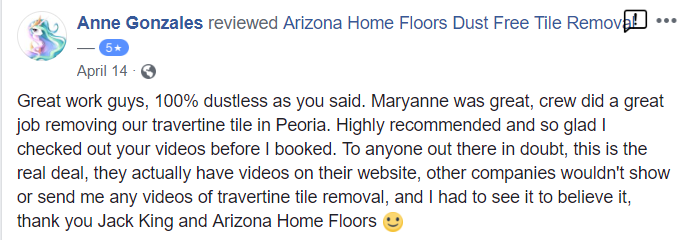 Arizona Home Floors Review Anne Gonzales