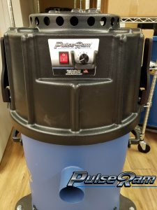 self cleaning vacuum by PulseRam